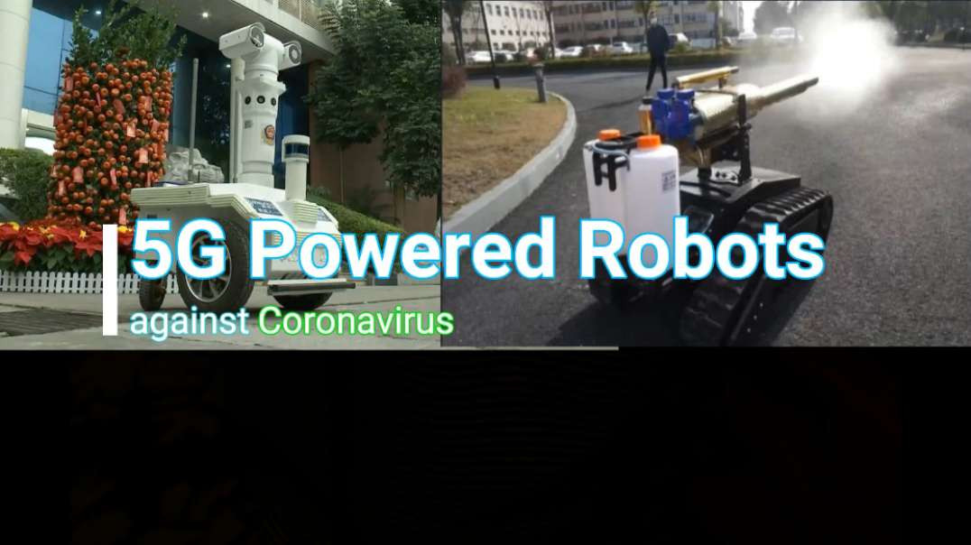 5G Powered Patrol Robots ..BEING USED IN CHINA