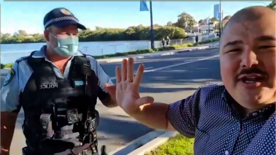 Aussie Freedom Blogger Arrested For 'Exercising'