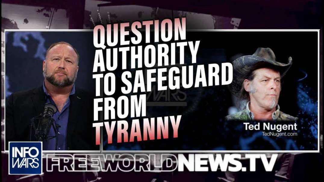 Powerful Ted Nugent Interview: The Federal Government is the Most Evil Force on Earth