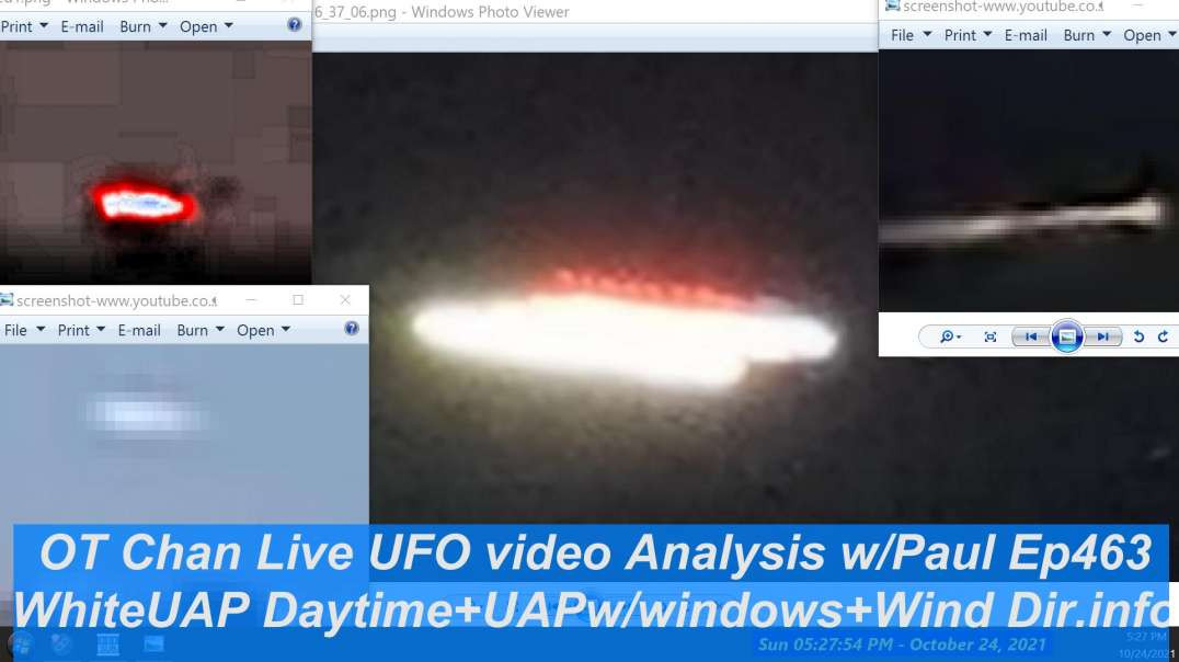 Live Investigations looking at more UFO vids +UFO Catch Up Analysis + UAP Topics - OT Chan Live-463~
