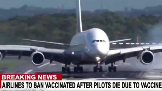 Airlines Warn Vaxxed Not To Fly After Surge Of Pilot Deaths