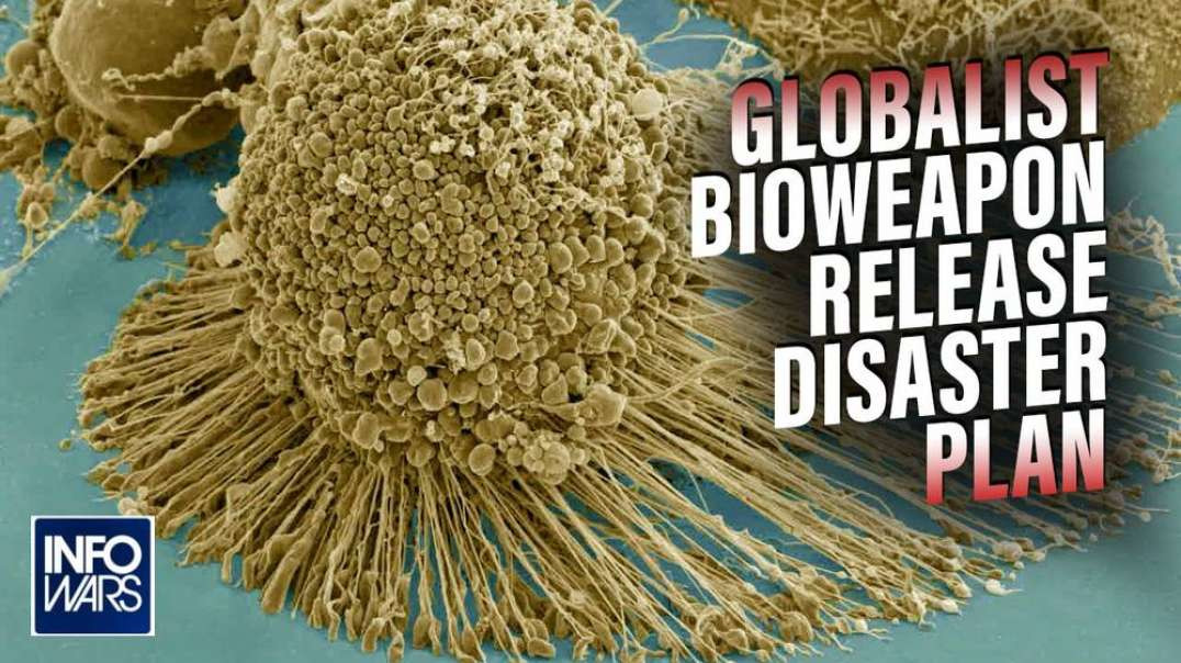 Learn the Globalist Bioweapon Release Disaster Plan Before It's Too Late