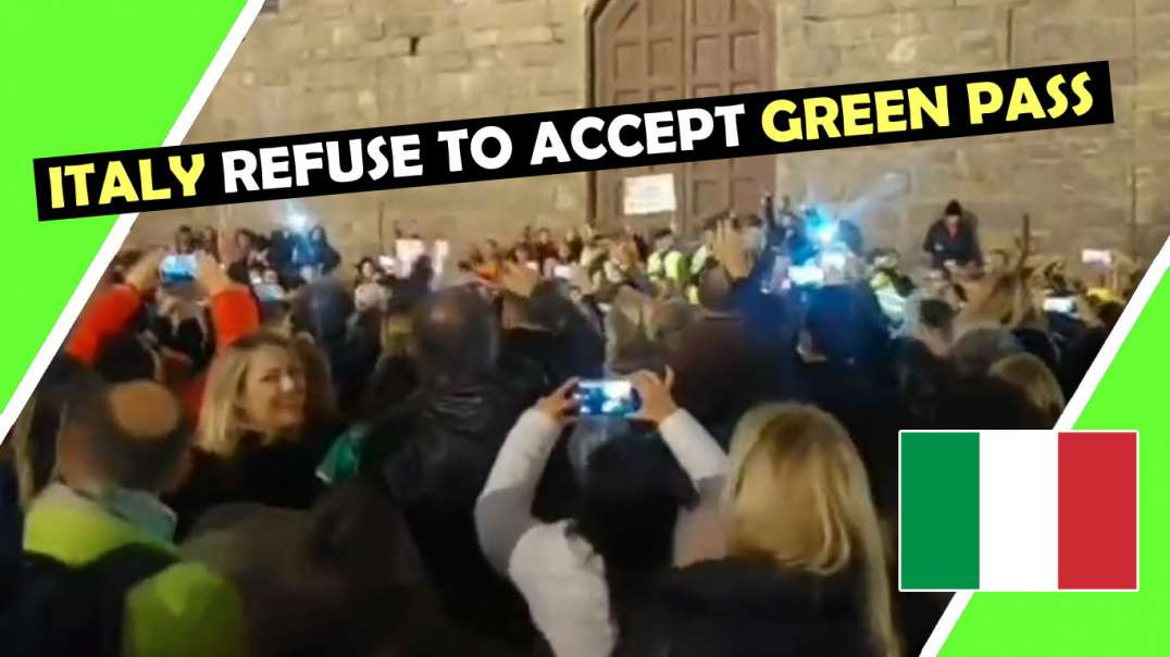 ITALY REFUSE TO ACCEPT THE GREEN PASS #Trieste #Rome / Hugo Talks #lockdown