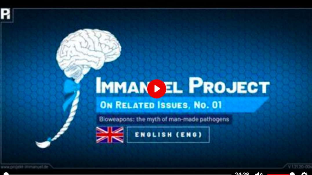 Project Immanuel | Bioweapons - the myth of the man-made pathogen with Dr. Stefan Lanka