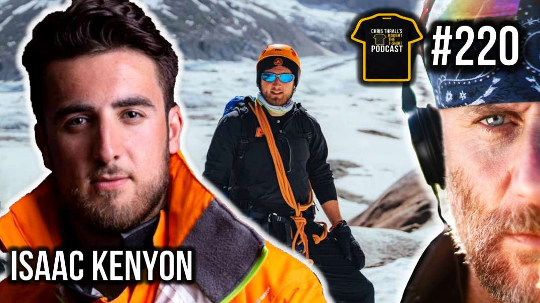 Climate Solutions and Eco Adventures | Isaac Kenyon | Bought The T-Shirt Podcast