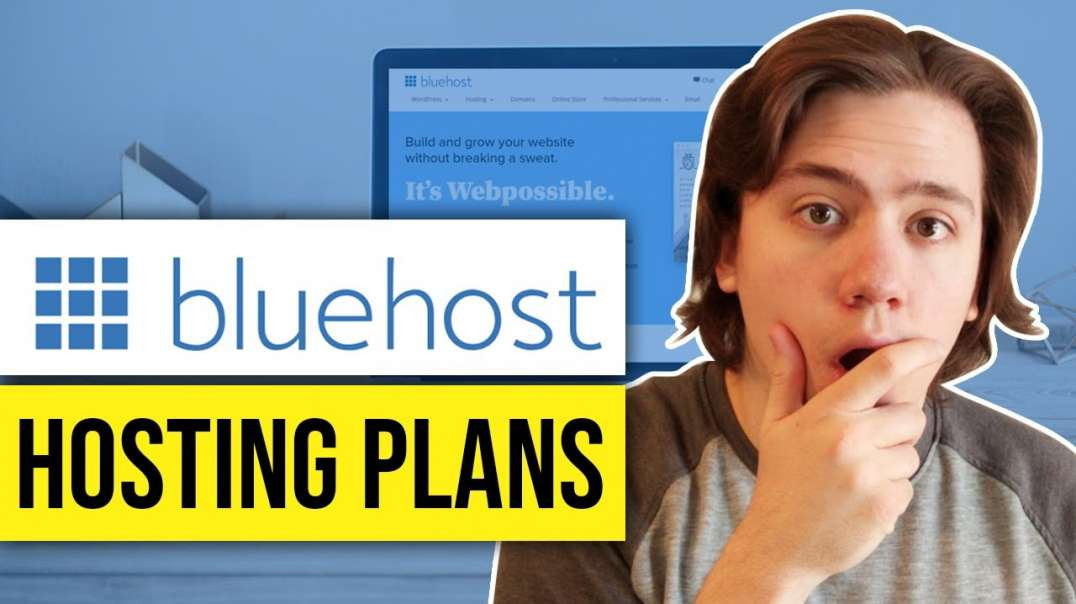 Bluehost Pricing & Cost Bluehost Hosting Plans & Packages
