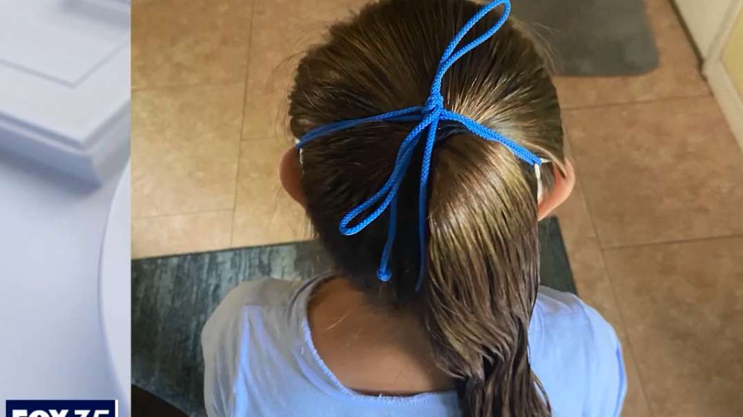 Orlando Florida Father of child with Down syndrome says mask was tied around his daughters head