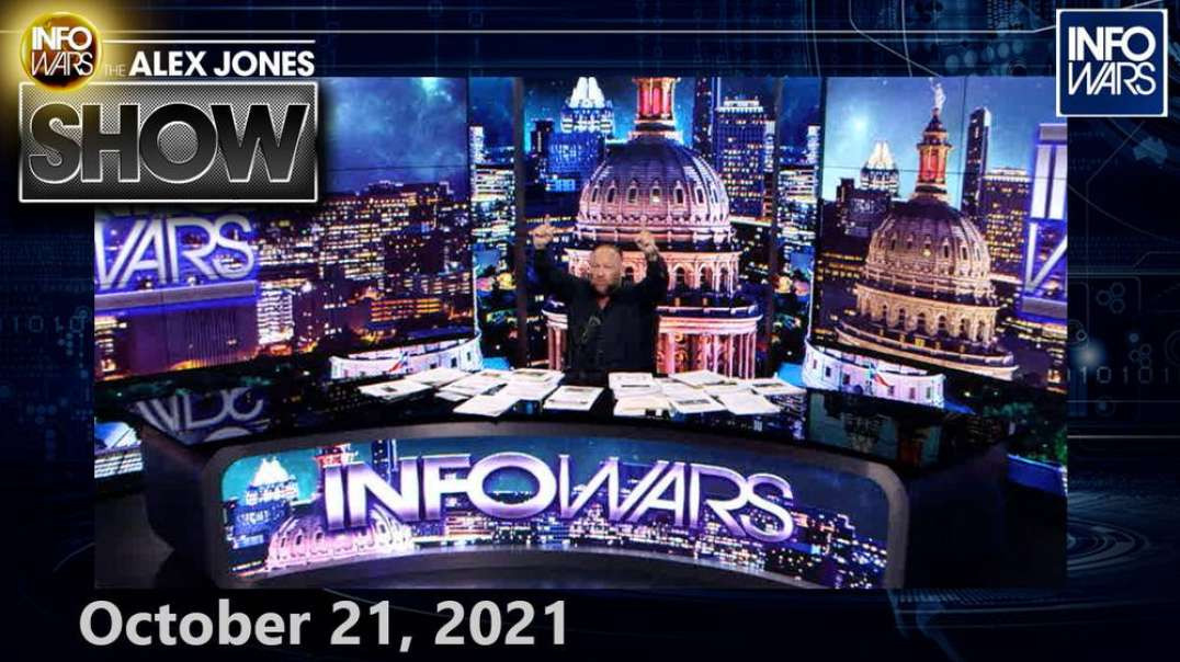 NIH Admits Fauci Ran Illegal Bioweapons Program at Wuhan Lab With Taxpayer Money! FULL SHOW 10/21/21