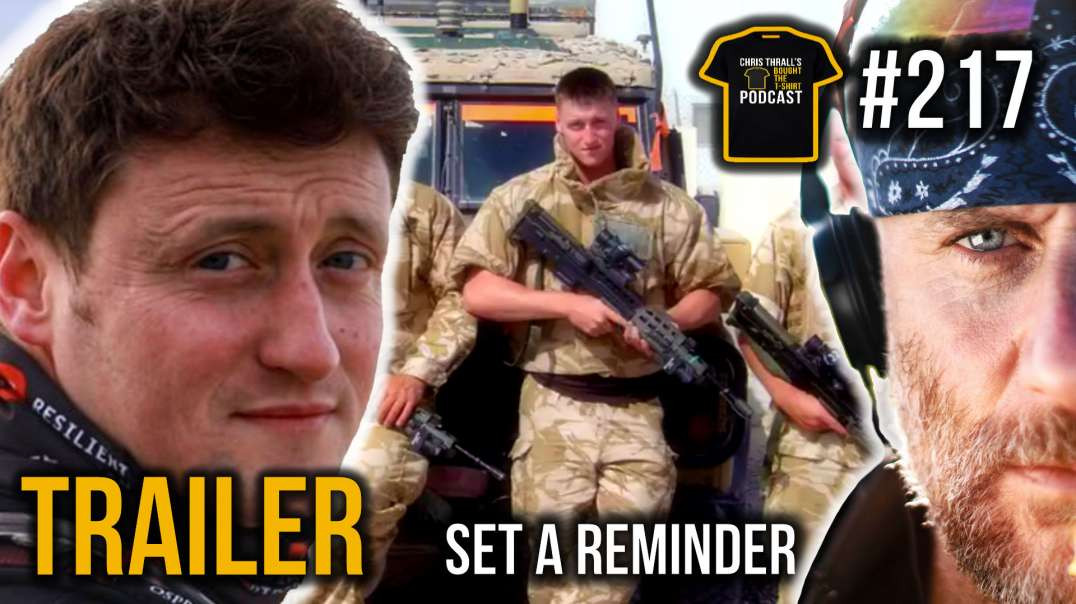 TRAILER | British Army PTI Legend | Daz Hardy | Bought The T-Shirt Podcast