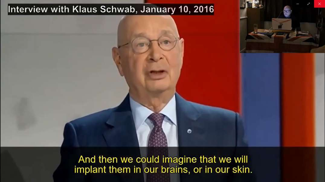 Trudeau's SAFETY. Schwab's MICROCHIPS for all. Is Jesus Christ preparing a place for you?
