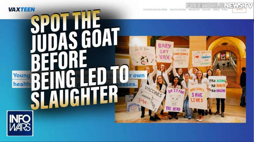 Learn How to Spot the Judas Goat Before Being Led to Slaughter