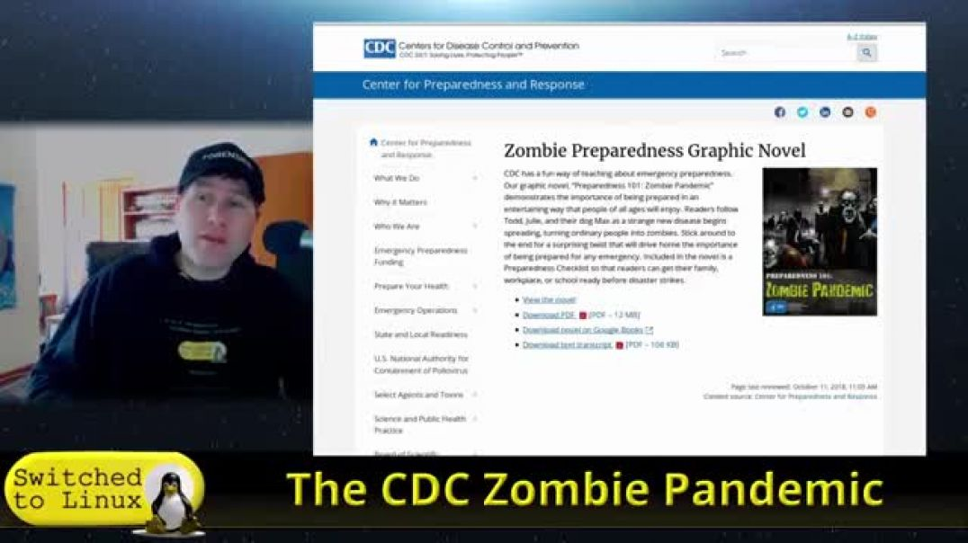 STL Presents The CDC Zombie Pandemic Guide