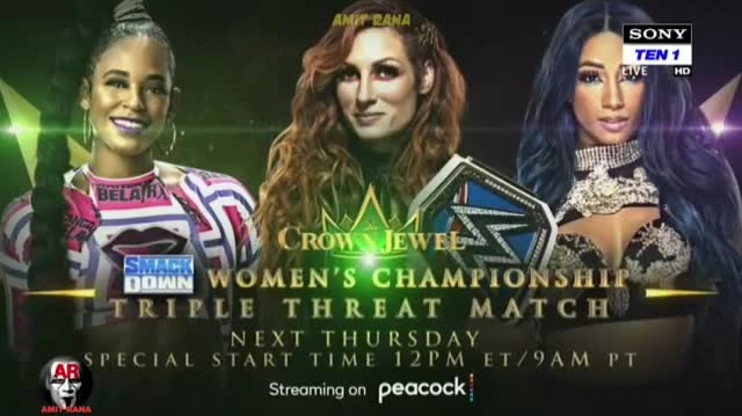 WWE_smackdown 16th October_2021 highlights
