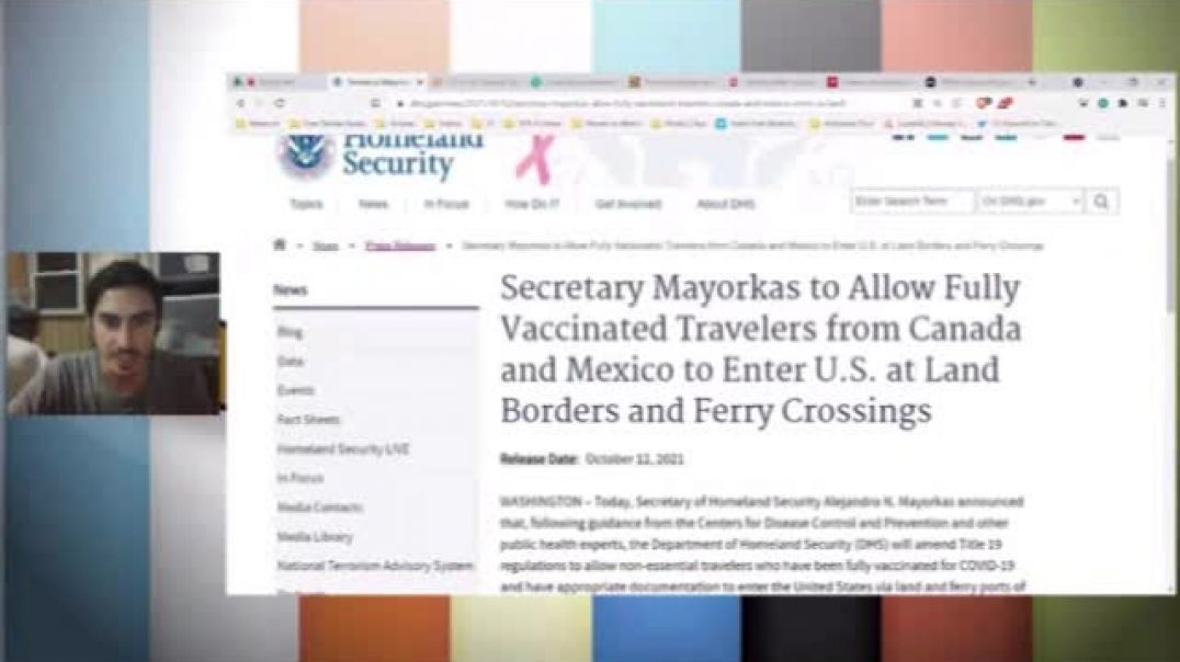 INCOMING Travel Restrictions and Fines for the Unvaxxed and Vaxx For Kids
