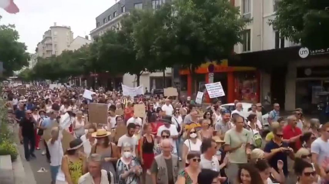 Worldwide anti-lockdown  vaccination passport protests People are waking up
