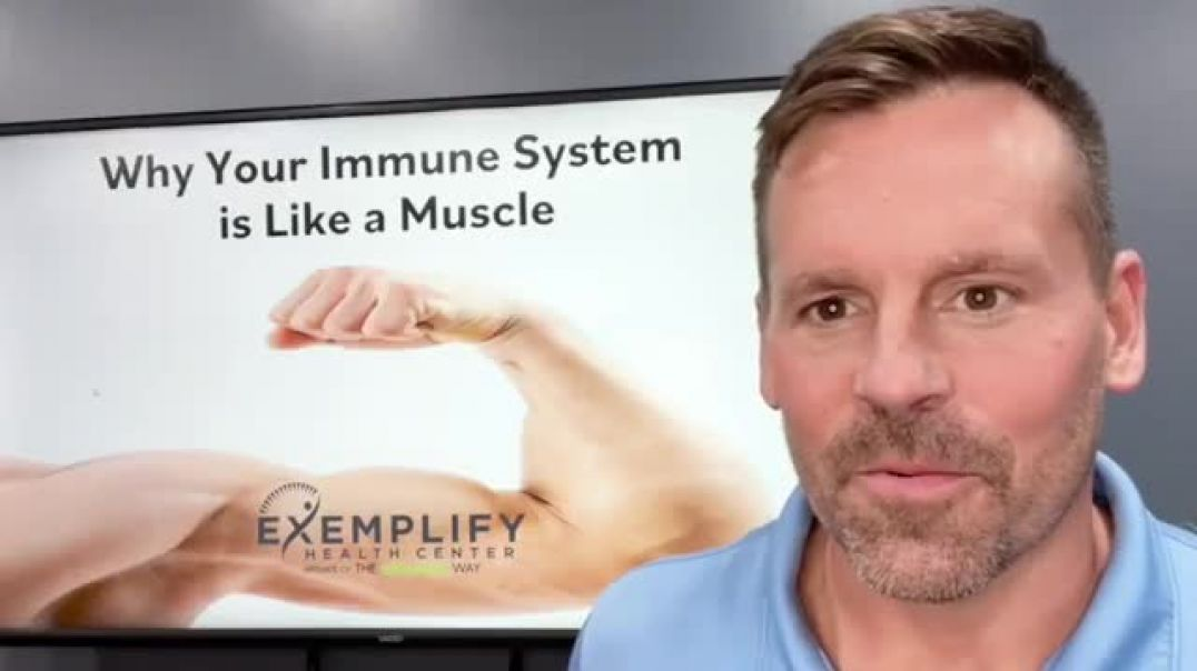 How Your Immune System Is Like a Muscle - It is Able to Adapt and Overcome Sickness!