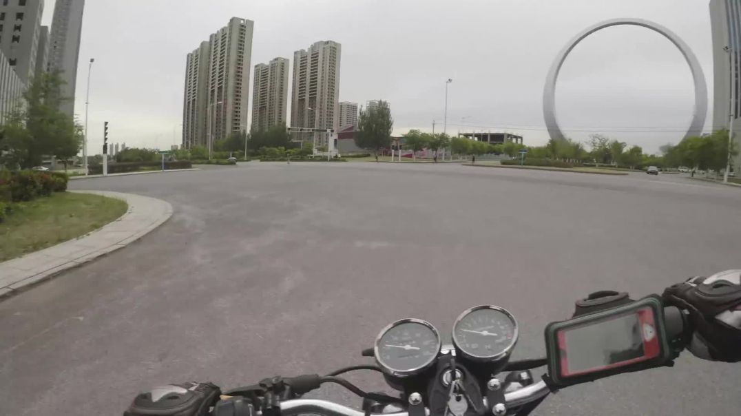 A look around Chinese ghost city, marching orders by military