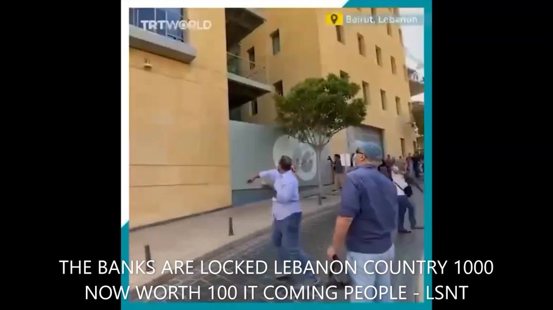 YOU READY FOR THE 2ND CRASH MONEY IS WORTH NOTHING IN LEBANON