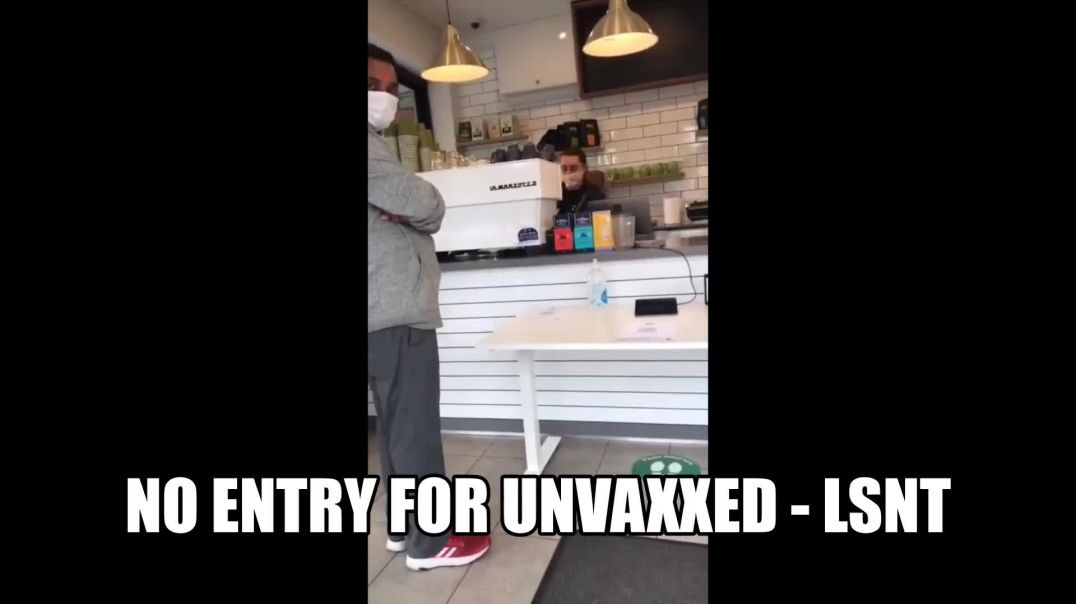 Proof of Vaccination Signs Up In Shops Australia No ENTRY Shops Closing Down All Over