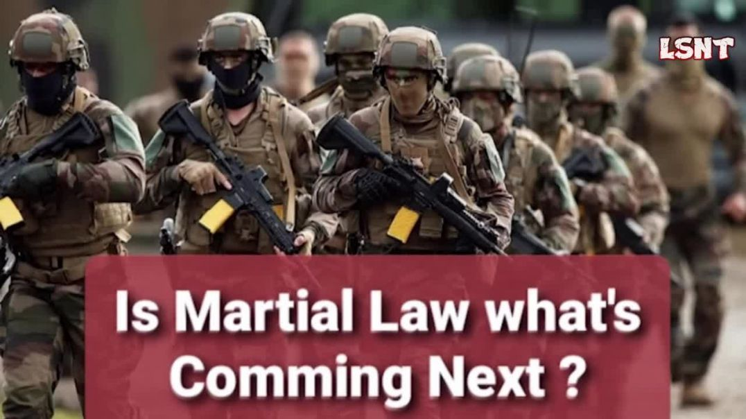 FULL GLOBAL MARTIAL LAW IS BEING PREPARED! YOU WILL LOSE UNLESS YOU DO THINGS THE RIGHT WAY