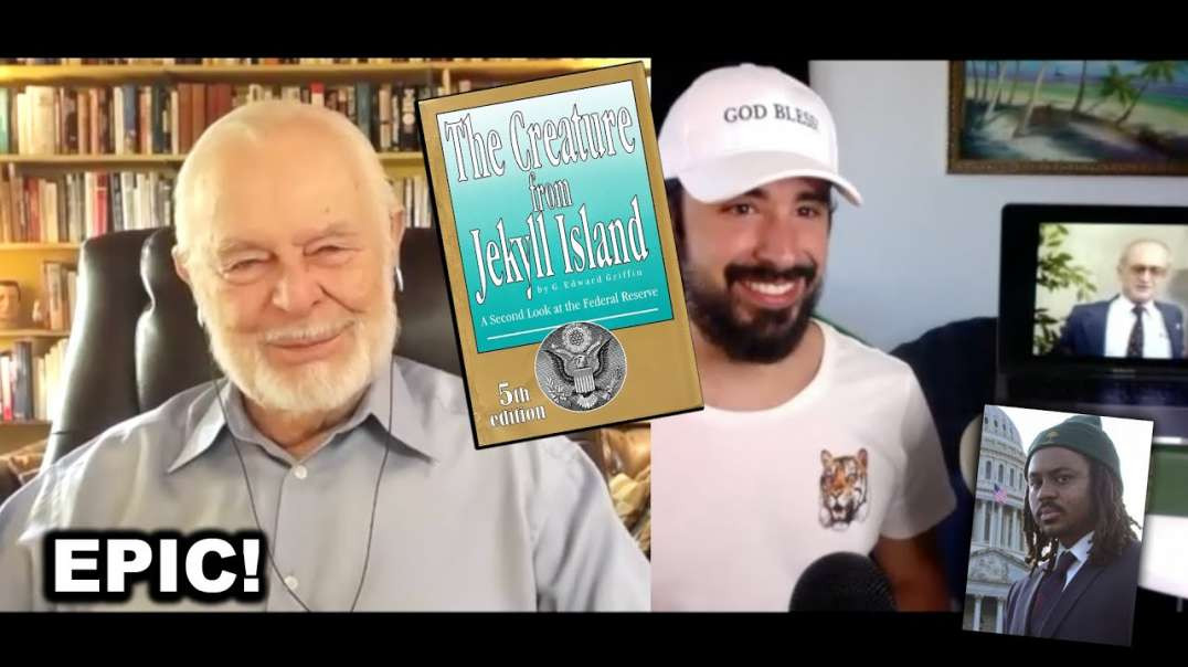 """The CREATURE from Jekyll Island - The Cartel BANKING """"BEAST"""" that CONTROLS the Government!"""