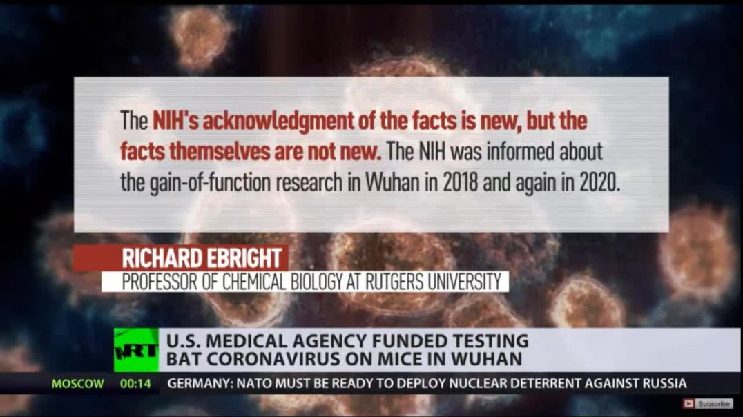 Officially Exposed Now: US did fund Gain of Function Research on Bat Born Diseases so Fauci Lied end