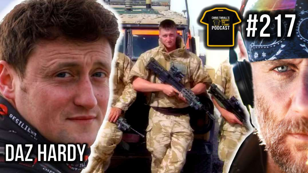 I PULLED A BMW For TWO Days! | British Army Legend | Daz Hardy | Bought The T-Shirt Podcast