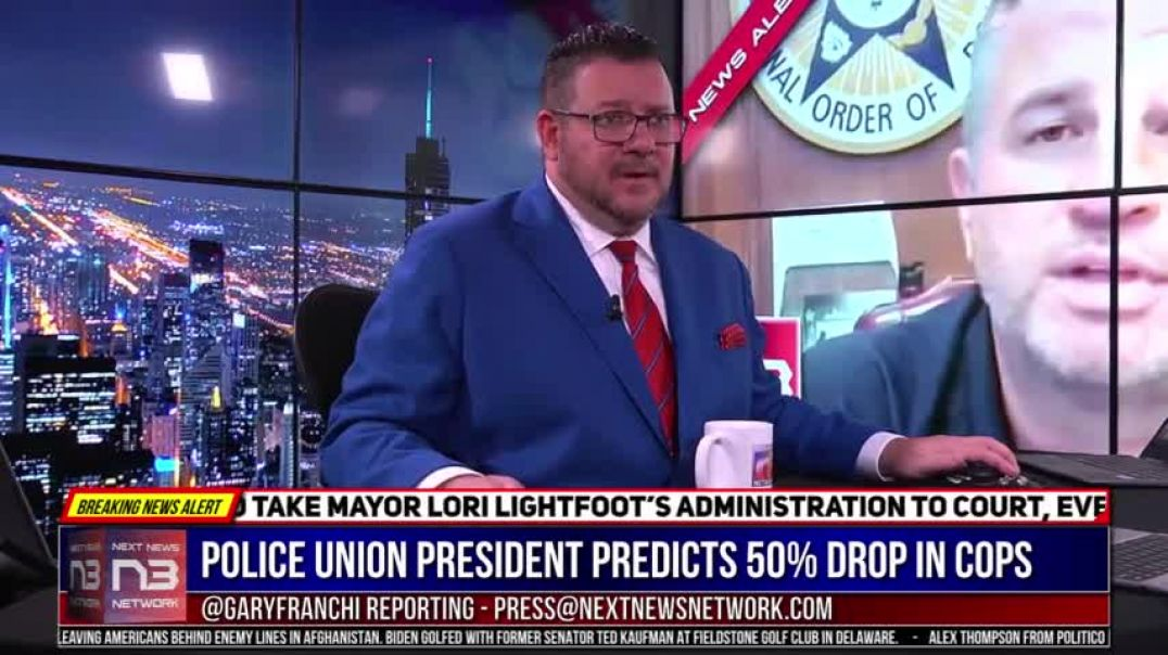 Police Union President Predicts 50% Drop In Cops On The Street From Thing Government Did