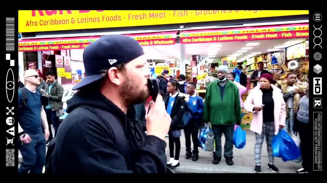(EMB) WORD ON THE CURB - WAKING UP THE STREETS OF WEST LONDON - ROADSIDE OUTREACH (19/10/21)