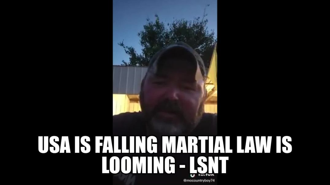 USA Is Falling Martial law is Looming Under The Rustle of Civil War