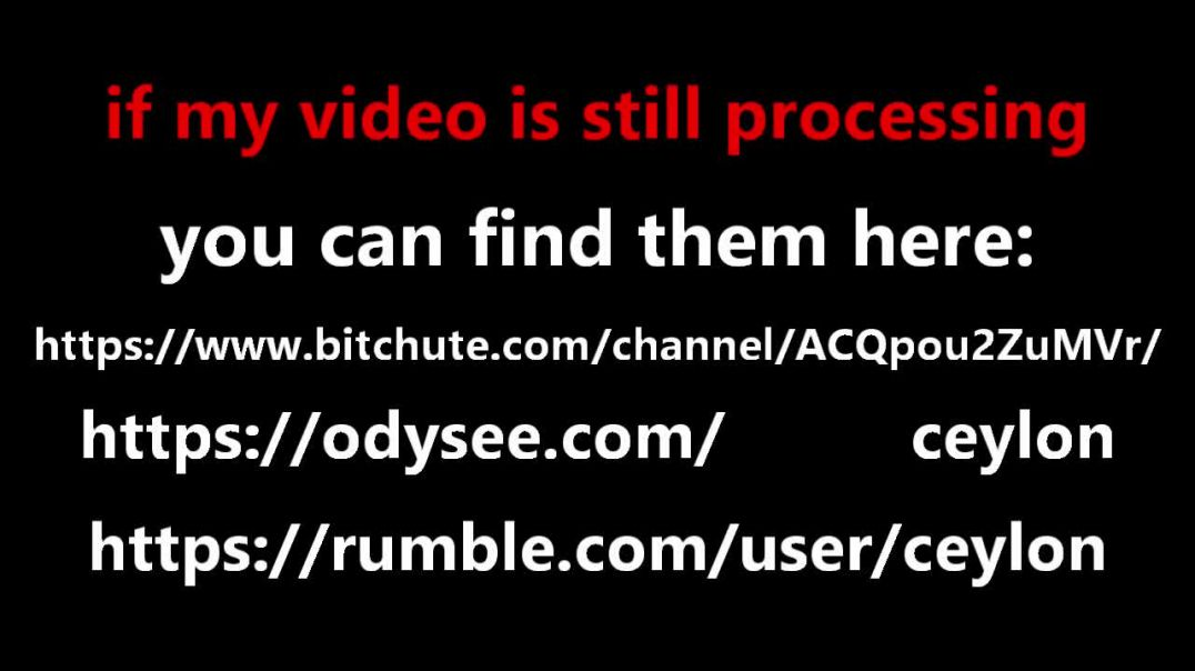 if my video is still processing you can find it here