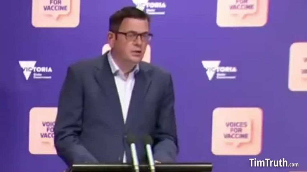 Australia: Dan Andrews Mandates Vaccines For All Victorian Workers Or They Can't Leave Home For