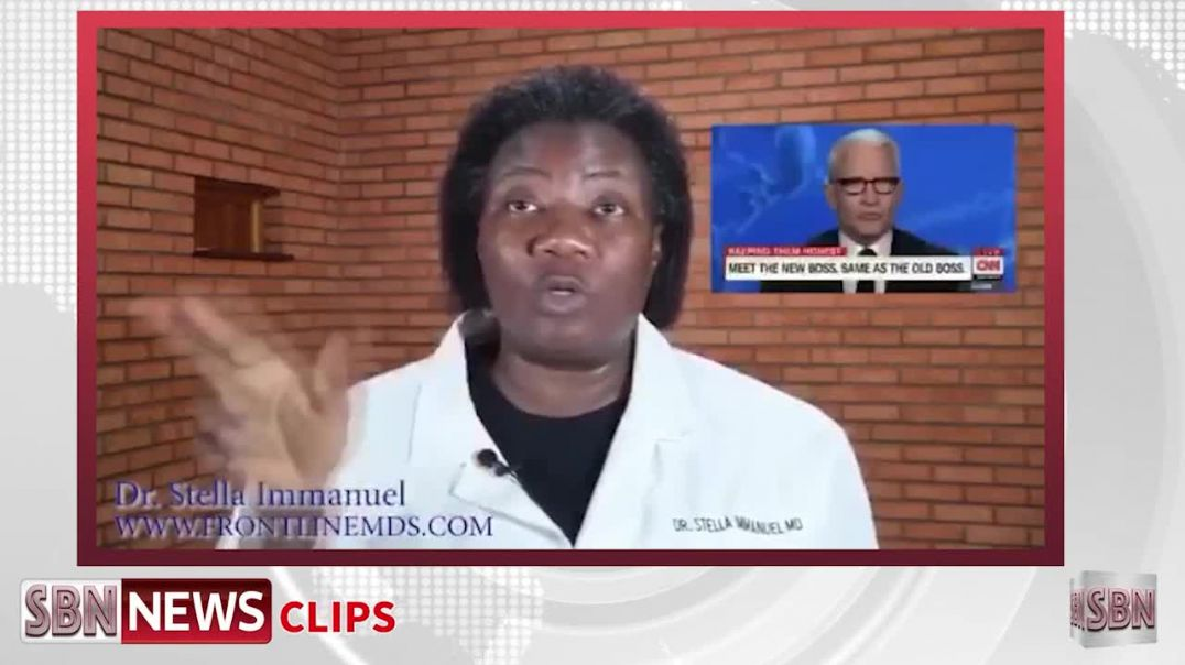 Dr. Stella Immanuel From America's Front Line Doctors Demands an Apology