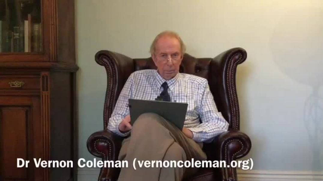 You'll be Drinking Granny Soon! Dr Vernon Coleman