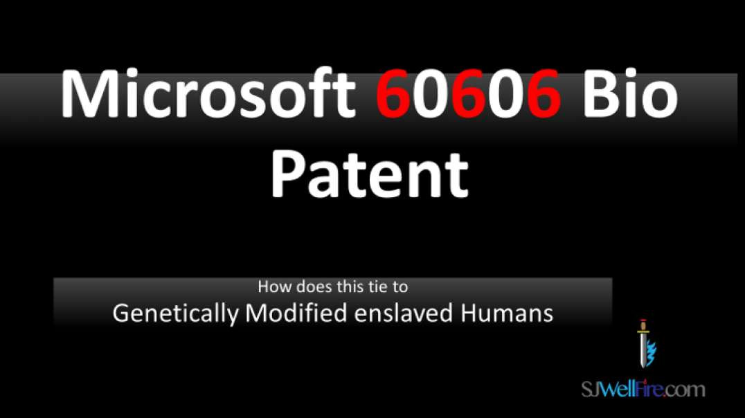 Microsoft 666 patent without the zeros.   GMeH humans
