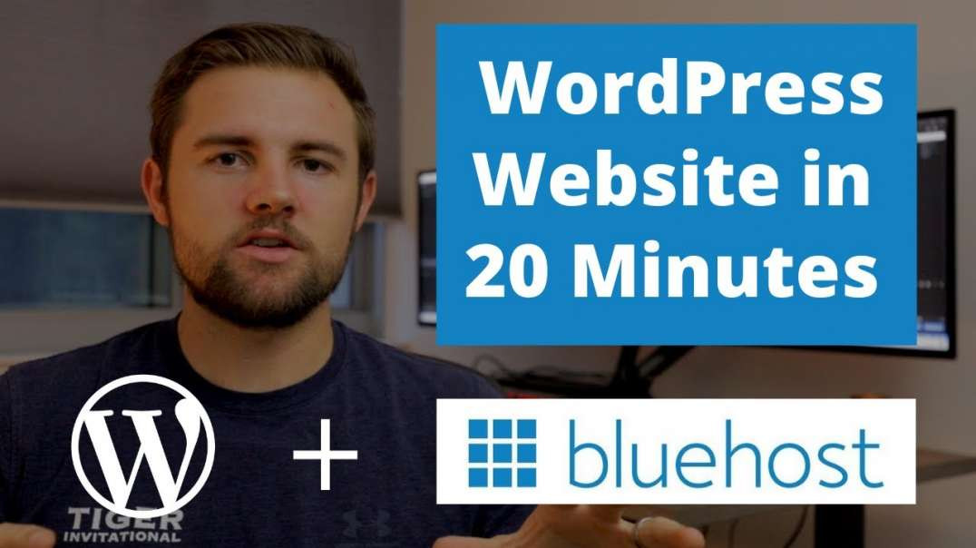 Create a WordPress Website in 20 Minutes with Bluehost