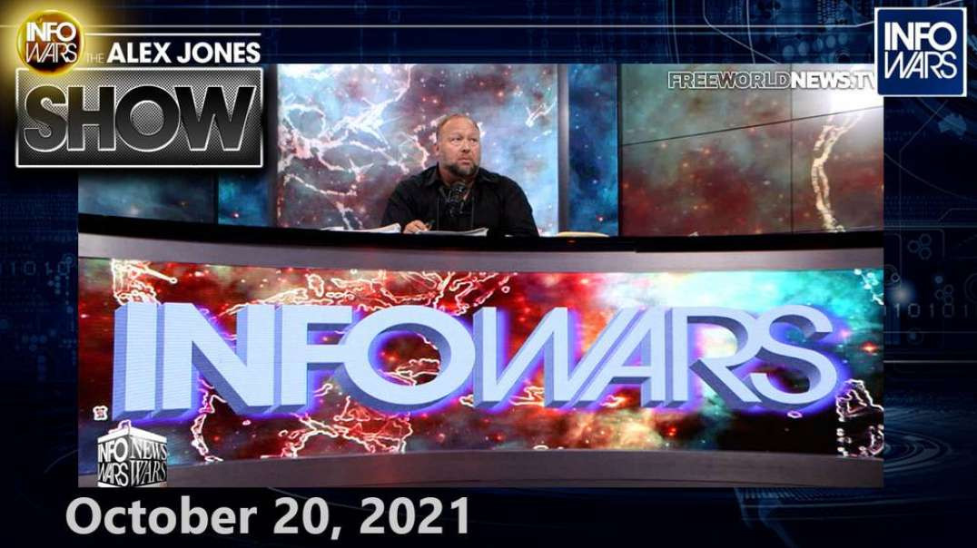 Biden Announces Plan to Forcibly Jab Children 5 & Over With Covid-19 Bioweapon - FULL SHOW 10/20