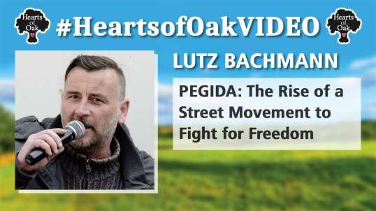 Lutz Bachmann: PEGIDA - The Rise of a Street Movement to Fight for Freedom