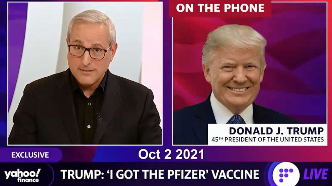 Oct 2nd Trump Asked If He would Take The Covid-19 Booster Shot & Past Compilation Trump