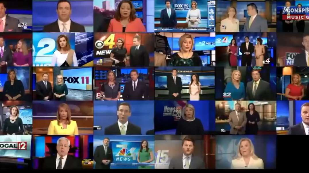 Scripted Media Mantra Propaganda Compilation News Readers Will Say ANYTHING They're Paid To Say