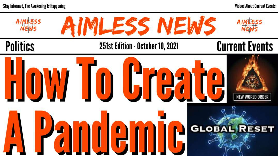 How To Create A Pandemic