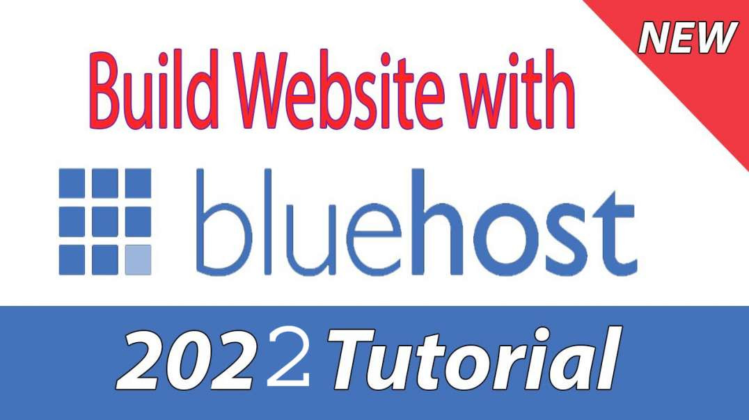 How to Build a Website with Bluehost and WordPress - Tutorial for Beginners