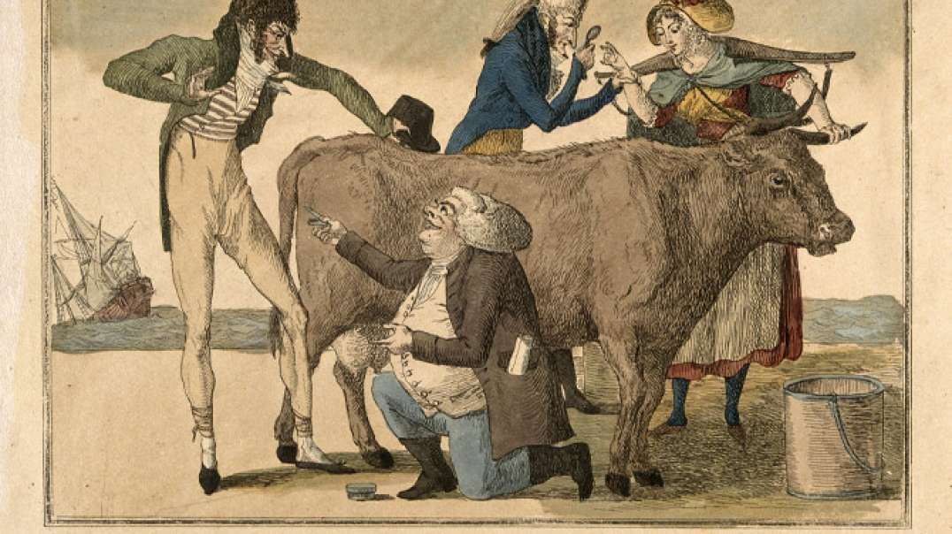 The word Vaccine comes from Latin meaning Cow, we are known as Cattle by the Elites. Must see vid.
