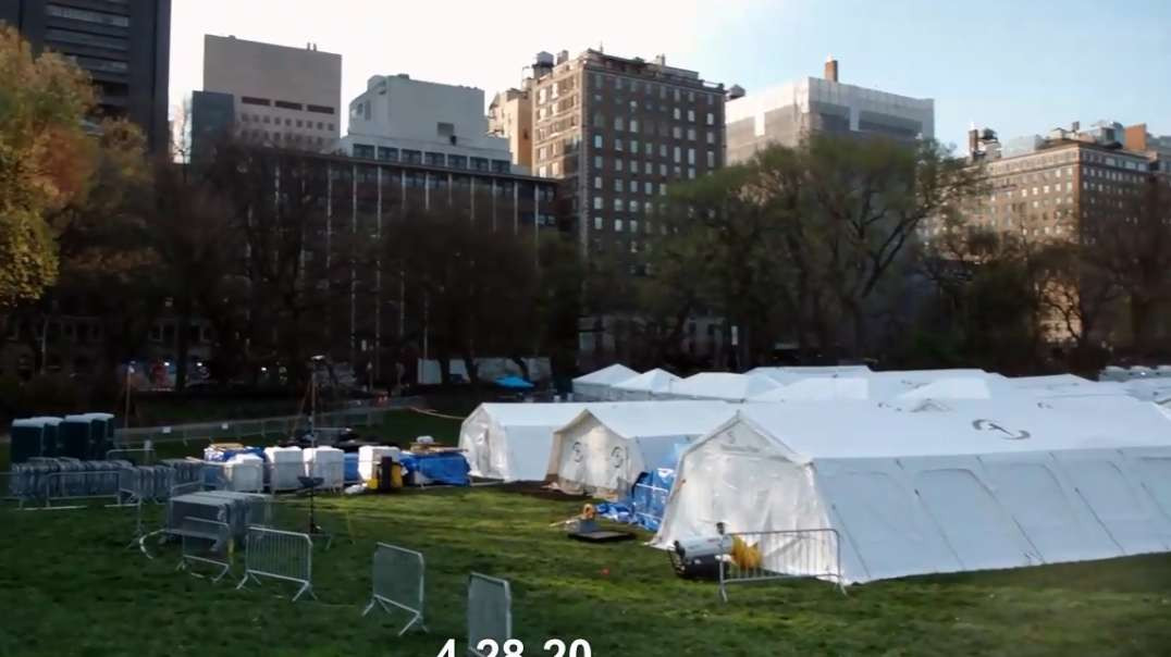 NYC Central Park Field Hospital Oct11th GONE!! Samaritan's Purse Website Covid-19 Theater BS